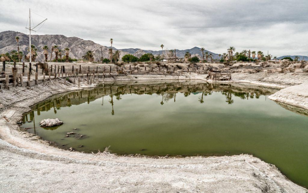 Foto von Kurt Frehe vom Salton Sea, einer interessanten geologischen Anomalie im Südosten Kaliforniens.